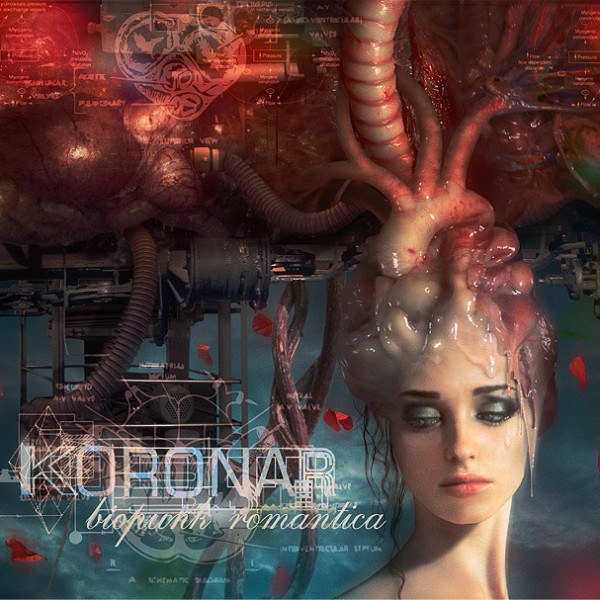 "KORONAR - LP ""Biopunk Romantica"" (3 songs of 15)"