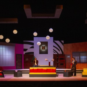 Run For Your Wife  (stage design, theatre Daile, 2019)